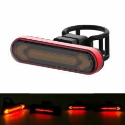 XANES® Wireless Control remoto Luz de advertencia de señal de giro Luz de bicicleta USB recargable Impermeable Indicador
