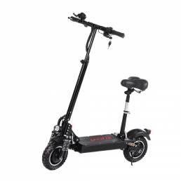 LAOTIE® ES10 2000W Dual motor 23.4Ah 52V 10 pulgadas Scooter eléctrico plegable con asiento 70 km / h Velocidad máxima 8