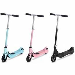Rgogo Q3 Scooter eléctrico plegable para niños 22.2V 2Ah Velocidad máxima 4-6km / h Carga máxima 50kg 1-1.6m Juguete de