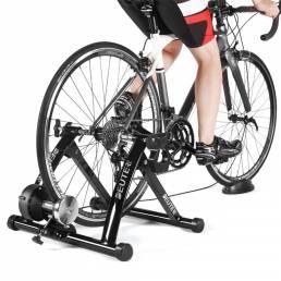 Bicicleta Entrenador de ejercicios para interiores Silent MTB Road Bike Resistance Aptitud Estación de ciclismo Plegable