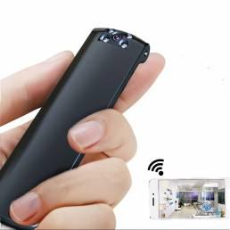 IDV 180 ° giratorio 1080P completo HD 1200 mah WIFI AP Clip Cámara visión nocturna Mini Coche DVR DV Videograbadora de v