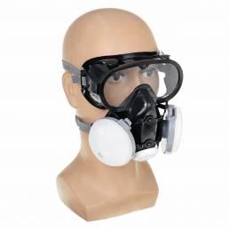 Filtros Cara reutilizable Mascara Anti Polvo transpirable Anti-niebla Cubierta de la cara Ciclismo Running al aire libre