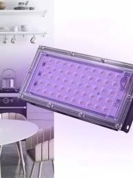 110 / 220V 50W UV LED Esterilizador de ozono con luz de inundación germicida IP65 Impermeable Hogar Cocina Dormitorio Ba