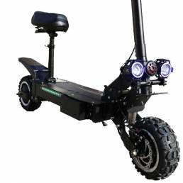 ZAPCOOL T108 Dual motor 29Ah 60V 3600W Scooter eléctrico 11 Inch 85 km / h Velocidad máxima 70-90KM Kilometraje Máx. Car