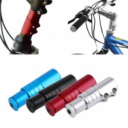 BIKIGHT Carretera Bicicleta de Montaña Tenedor Extensor de Vástago Aleación De Aluminio Manillar de Bicicleta Riser Meta