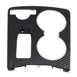 Cubierta de ajuste de soporte de copa de consola central de color de fibra de carbono 2046800307911 LHD para Mercedes Cl