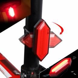 XANES TL17 Scooter eléctrico Moto E-bike Bicicleta Ciclismo Correr Linterna Luz