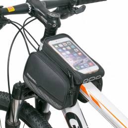 ROSWHEEL 5.7 pulgadas de pantalla táctil bici teléfono bolsa impermeable bicicleta de carretera MTB ciclismo marco super