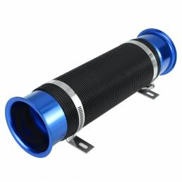 Filtro de equipo de inducción de tubería de conducto flexible de alimentación de entrada de aire frío universal de 3 pul