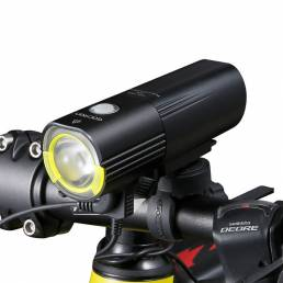 GACIRON V9S 1000LM 4500mAh Faro de bicicleta IPX6 Impermeable Banco de energía 6 modos de luces Scooter eléctrico MTB Lu