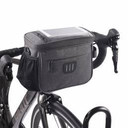 5L Impermeable Manillar de bicicleta Bolsa MTB Bicicleta de carretera Delantero Bolsa Marco de cabeza de bicicleta Cesta