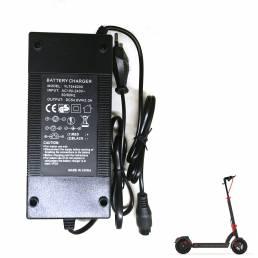 AERLANG 54.6V2A Scooters Batería Cargador UE / US Enchufe para Aerlang H6 Scooter eléctrico plegable