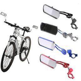 BIKIGHT 360 ° rotación bicicleta espejo de la bicicleta reflectante seguridad ciclismo manillar espejo retrovisor