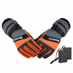 WARMSPACE WS-G0126 Calefacción eléctrica Guantes al aire libre Pantalla táctil para esquiar Guantes Invierno cálido Guan