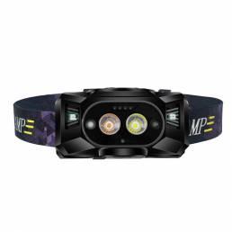 XANES® XPG 250LM Sensor LED Faro de 1800 mAh 6 modos 3 fuentes de luz Impermeable cámping Linterna de cabeza de luz