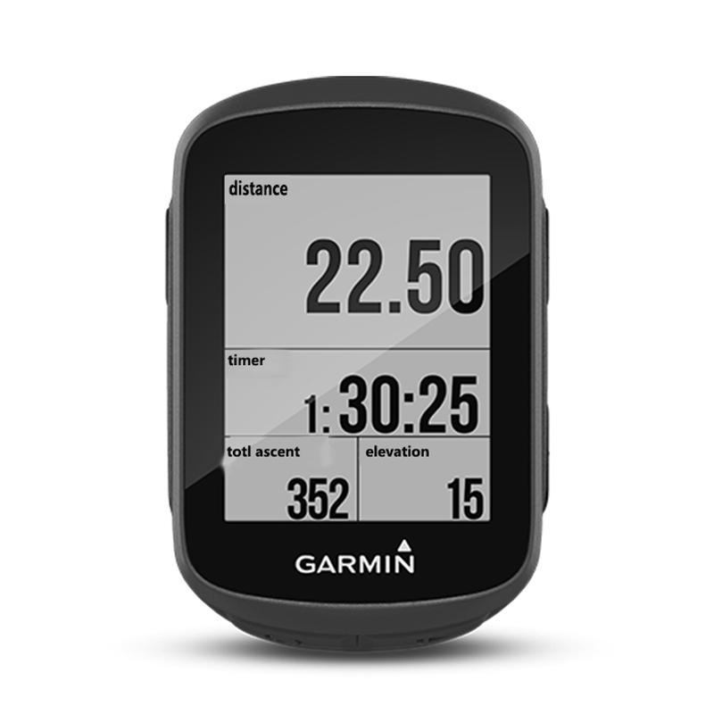 GARMINEdge1301.8pulgadasPantallaen blanco y negro bicicleta inalámbrica GPS Computadora inteligente para cronómetro