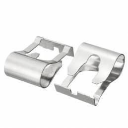 2 X acero coche clips de reparación vinculación de limpiaparabrisas para Fiat Doblo brava bravo punto coupé stilo