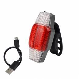 BIKIGHT Intelligent Turn Signal Brake Bike Light USB Luz trasera recargable COB LED
