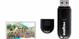 MAGENE ANT + Transmisor USB Receptor Computadora de bicicleta Plataforma de entrenamiento de ciclismo virtual bluetooth