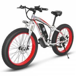 SMLRO XDC600 26in 48V 17.5Ah 1000W Bicicleta eléctrica 50 km / h Velocidad máxima 95-110 km Rango de kilometraje Bicicle