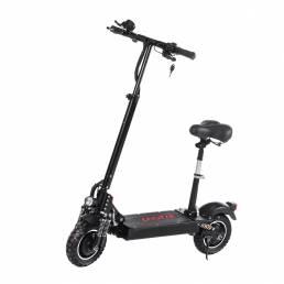 LAOTIE® ES10P 2000W Dual motor 28.8Ah 21700 Batería 52V 10 pulgadas Scooter eléctrico plegable con asiento 70 km / h Vel