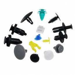 766PCS Coche Kit de clips de cuerpo embellecedor Remache Retenedor Panel de puerta Parachoques Sujetadores de plástico