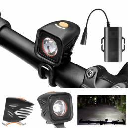 XANESXL111000LMxml-2LEDFaro de bicicleta IPX6 reflector de 180 ° 4 modos de potencia Pantalla Control inteligent