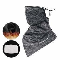 WHEEL UP Face Scarf Universal Winter Warm Transpirable Triangle Face Mascara Bandana a prueba de viento al aire libre Ci