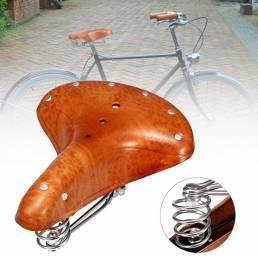 BIKIGHTPielGenuinaSillademontar en bicicleta Asiento de silla Cómodas almohadillas de montar en bicicleta Silla de
