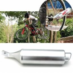 Bicicleta mountain bike turbina motocicleta tubo de escape de sonido con Motocard ajustable