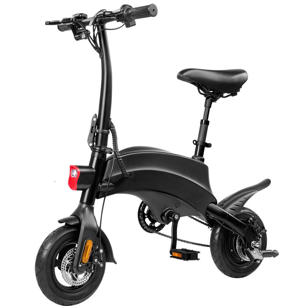 DYU S2 350W 10Ah 36V 10in Bicicleta de ciclomotor plegable 25 km / h Velocidad máxima 40 km Kilometraje máximo Bicicleta