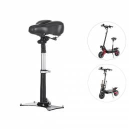 LAOTIE Asiento de sillín de scooter profesional transpirable 43-60cm Cojín de silla de scooter eléctrico plegable ajusta