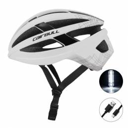 CAILBULL VISTA 2021 nuevo casco de bicicleta de ciclismo MTB bicicletas de carretera LED luz trasera EPS + PC gorra de s