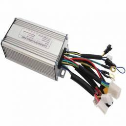 RISUNMOTOR 36V / 48V 500W 9MOSFET 25A Sin escobillas DC motor Controlador de par de imitación de onda sinusoidal para bi
