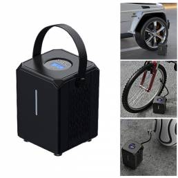 BIKIGHT Bomba de aire multifunción 2 en 1 Coche / Bicicleta / Bicicletas eléctricas / Bomba de bola 6000mAh 12V Bomba au