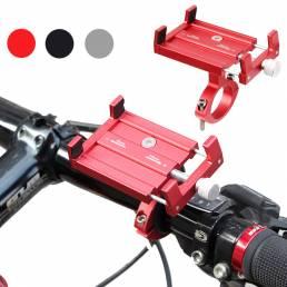 PK01 Soporte ajustable para teléfono de bicicleta GPS Soporte MTB Soporte antideslizante para manillar de bicicleta de m