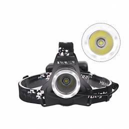 XANES XHP50 LED Linterna frontal 4 modos IPX-6 Impermeable Luz de trabajo recargable USB cámping pesca Ciclismo