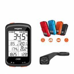 Ordenador de bicicleta Magene C406 blutooth ANT + Impermeable GPS Inalámbrico inteligente de montaña y carretera Monito