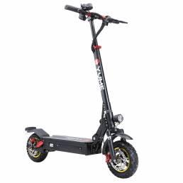 YUME S10 13Ah 48V 1000W Scooter eléctrico plegable 45-50 km / h Velocidad máxima 35-40 km Rango Kilometraje Sistema de d