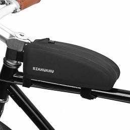 Marco delantero de bicicleta RZAHUAHU Bolsa Impermeable Tubo superior de bicicleta Bolsa Almacenamiento Bolsa Bicicleta