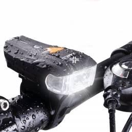 [EXCLUSIVO DE BANGGOOD ANNI VIP] XANES 600LM XPG2 LED Bicicleta estándar alemán Sensor inteligente Luz de advertencia