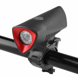 BIKIGHT 3-Modos 750LM T6 LED Luz delantera de bicicleta Super brillante 2600mAh Bicicleta recargable USB LED Cabeza de l