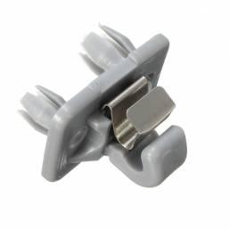 Soporte de clip de visera para techo automático Gancho soporte 8W0857562A4PK para Audi A1 A3 A4 A5 Q3 Q5 TT