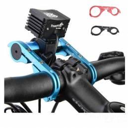Titular de soporte extensor bicicleta manillar de la bicicleta de la bici para el cronómetro