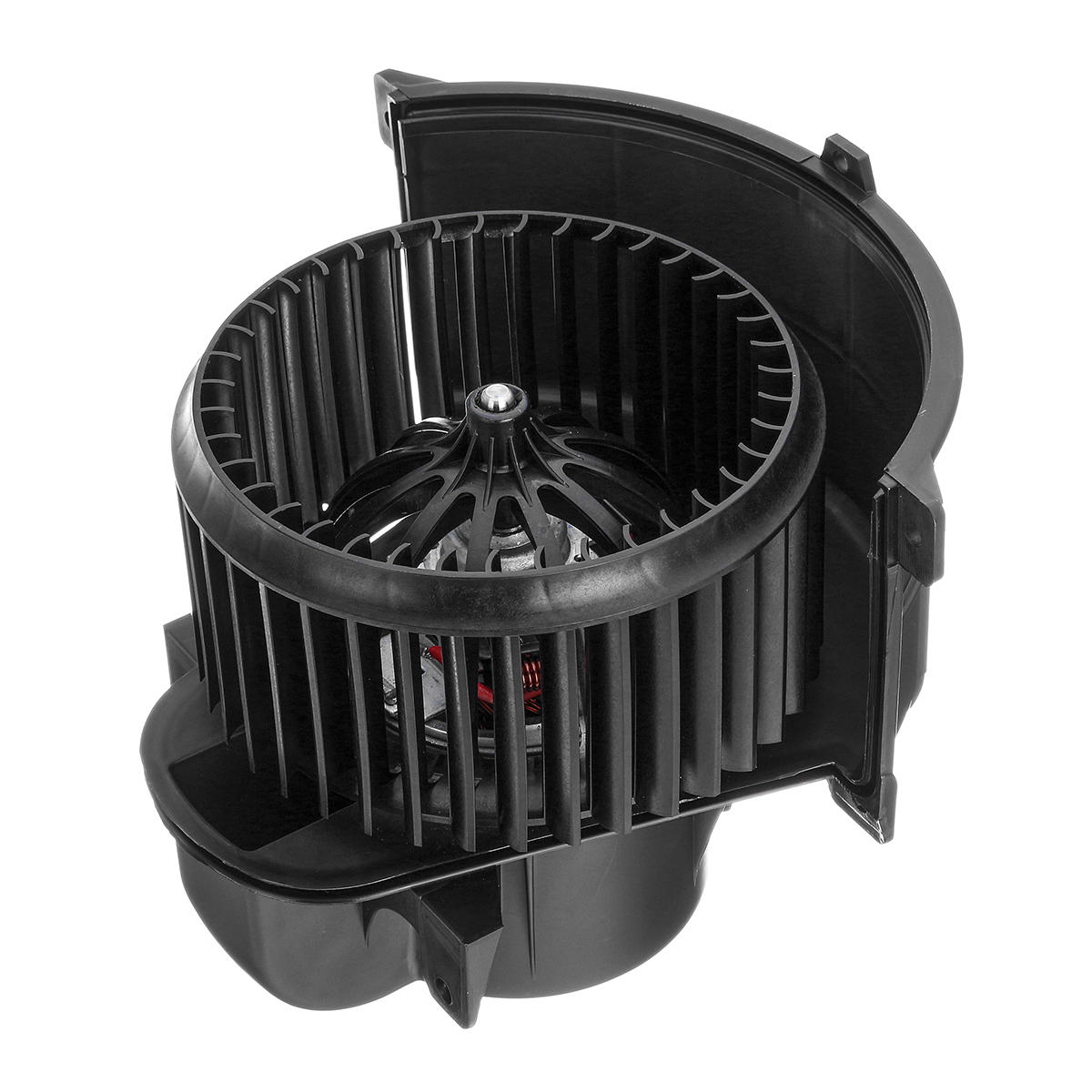 RHD Delantero Derecho Calentador Blower Plastic Black motor y Jaula Para Audi Q7 VW Touareg