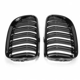 Rejilla frontal de riñón negro brillante para BMW E92 E93 2010-2014