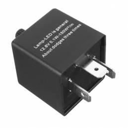 CF14 3-Pin Coche Flasher Relay Fix Hyper Flash para LED Luz intermitente de señal de giro