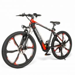 SAMEBIKE SH26 8Ah 36V 350W Bicicleta eléctrica 26 en aleación Rueda integrada 30km / h Velocidad máxima 70km Kilometraje