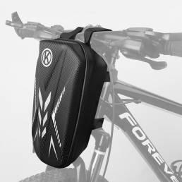 BIKIGHT Impermeable Tubo delantero de bicicleta Bolsa Marco de bicicleta Bolsa Almacenamiento de teléfono Bolsa al aire