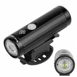 WEST BIKING 350LM Carga USB Faro de bicicleta Linterna de ciclismo MTB Delantero Lámpara Impermeable al aire libre Equip